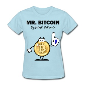 Mr Bitcoin By Satoshi T Shirt - Women's T-Shirt