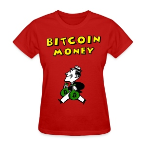 Retro Bitcoin Money T Shirt - Women's T-Shirt
