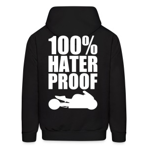 S&S HATER PROOF WHITE - Men's Hoodie