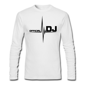 Official DJ Long Sleeve - Men's Long Sleeve T-Shirt by Next Level