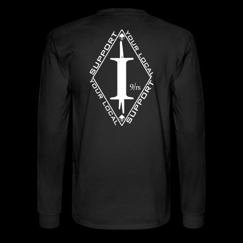 Long Sleeve Tee (front & back) - Men's Long Sleeve T-Shirt