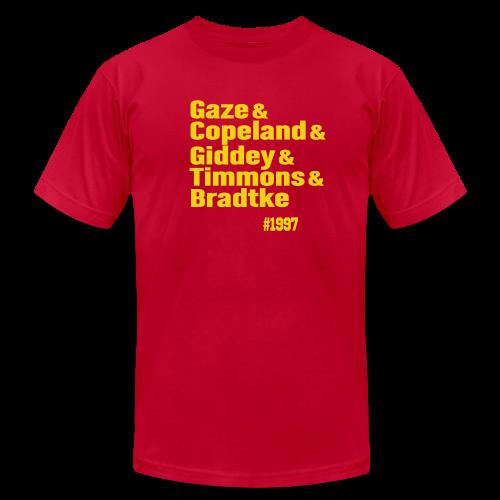 Melbourne 1997 - Men's Fine Jersey T-Shirt