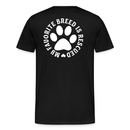 rc for dog's - Men's Premium T-Shirt