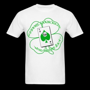 St. Pattys Day 9rs Tee (white) - Men's T-Shirt