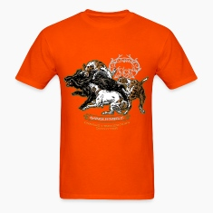 wild_boar_and_hounds T-Shirts