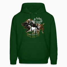 wild_boar_and_hounds Hoodies