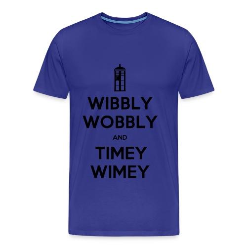 Wibbly wobbly timey wimey - Men's Premium T-Shirt