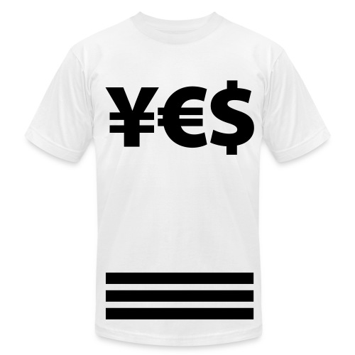 #YES TEE - Men's Fine Jersey T-Shirt
