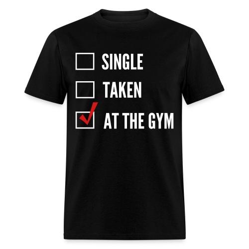 At the Gym - Men's T-Shirt