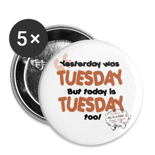 Tuesday - Supernatural - Button - Large Buttons