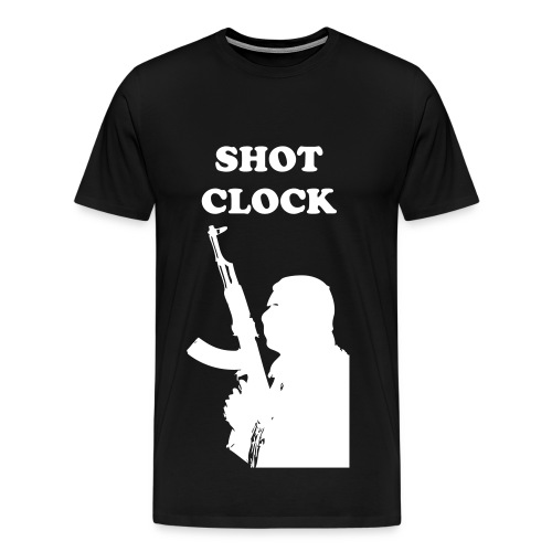 SHOT CLOCK KILLER TEE - Men's Premium T-Shirt