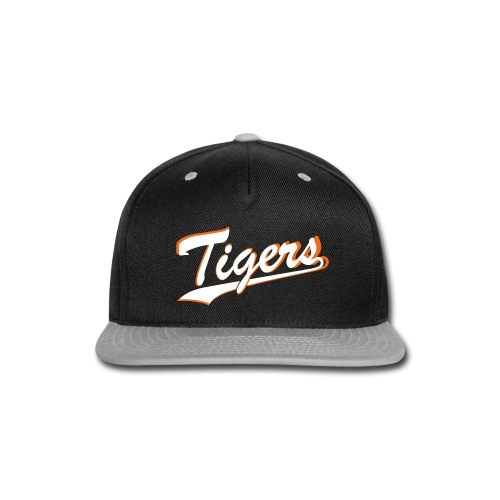Tigers Flat Cap Snapback - Snap-back Baseball Cap
