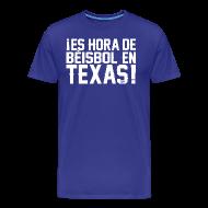 T-Shirts ~ Men's Premium T-Shirt ~ It's Baseball Time in Texas!