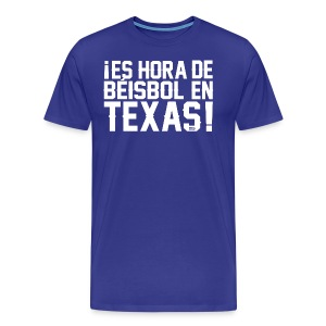 It's Baseball Time in Texas! - Men's Premium T-Shirt