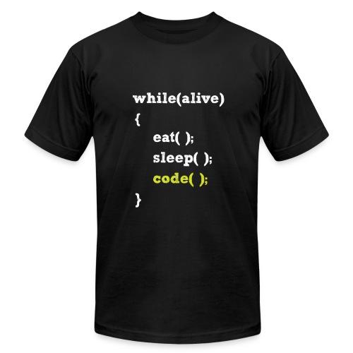 A programmer Life - Men's Fine Jersey T-Shirt