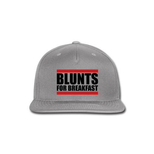 BLUNTS FOR BREAKFAST SNAPBACK  - Snap-back Baseball Cap