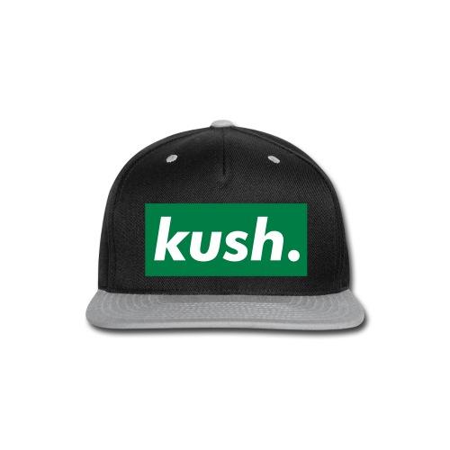 KUSH SNAPBACK  - Snap-back Baseball Cap