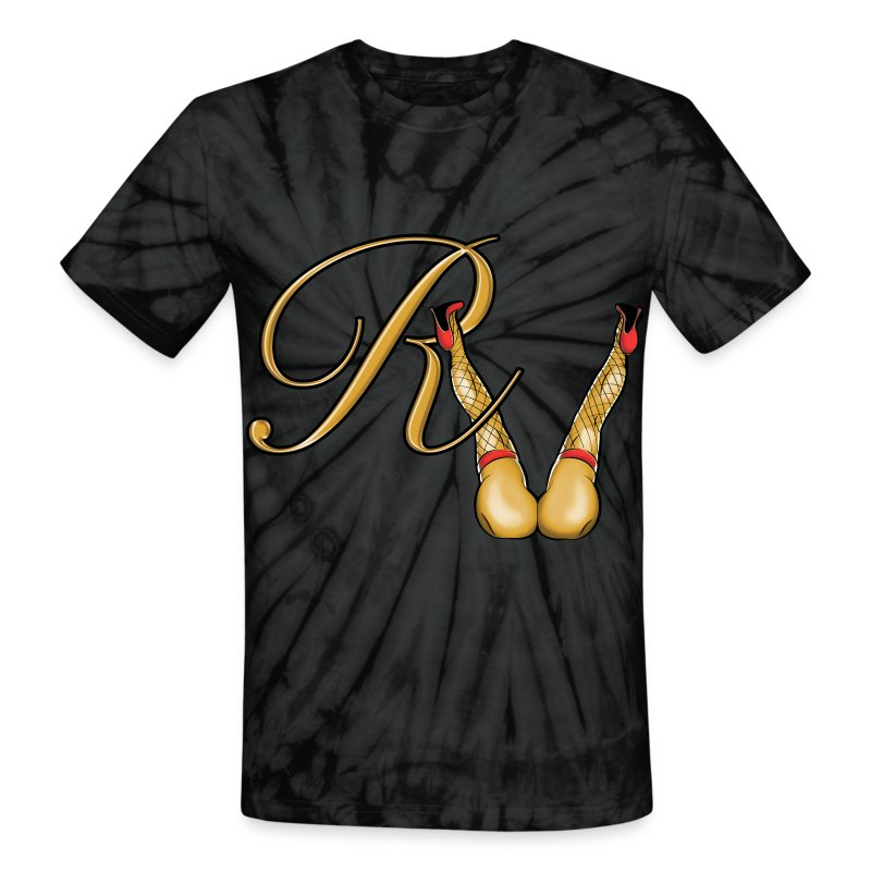 rv_graphiccmyk - Unisex Tie Dye T-Shirt