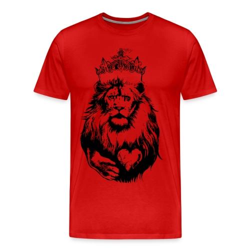 LionHearted! - Men's Premium T-Shirt