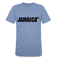 T-Shirts ~ Unisex Tri-Blend T-Shirt by American Apparel ~ Mens Jamaica T-shirt