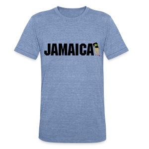 Mens Jamaica T-shirt - Unisex Tri-Blend T-Shirt by American Apparel