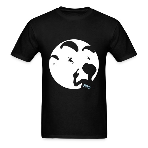 E.T.White Moon - Men's T-Shirt