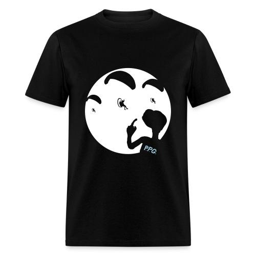 E.T.White Moon - Men's T-Shirt