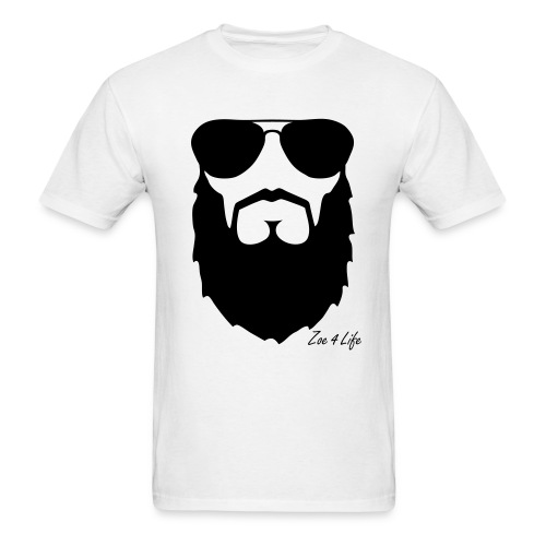 Zoe 4 Life  Beard Tee - Men's T-Shirt