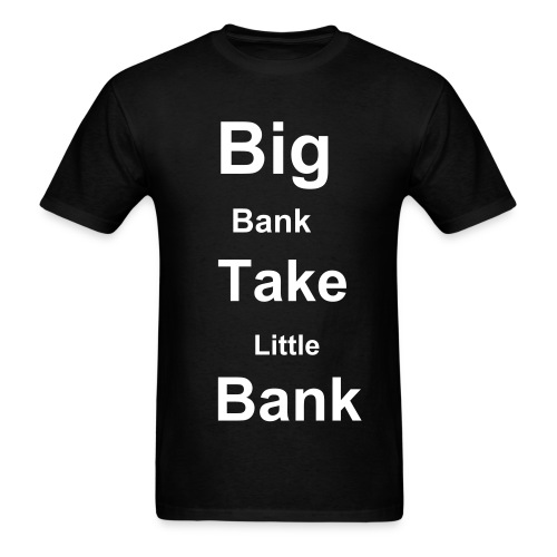 big bank - Men's T-Shirt
