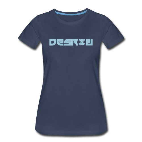Women's desRow Light Blue Logo Shirt - Women's Premium T-Shirt