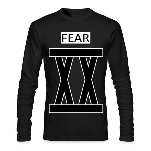 Double X 12 Fearless Dark Slim Sweater - Men's Long Sleeve T-Shirt by Next Level