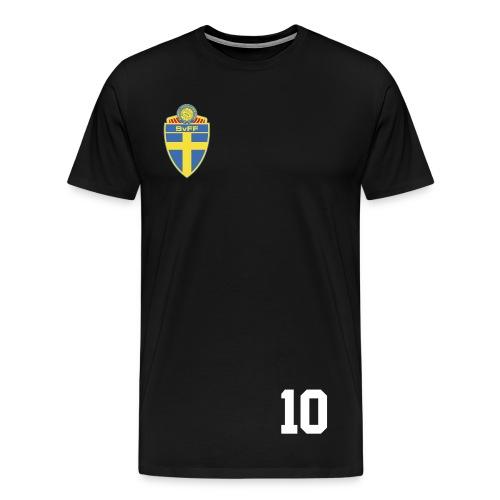 Zlatan Ibrahimovic jersey (swe) - Men's Premium T-Shirt