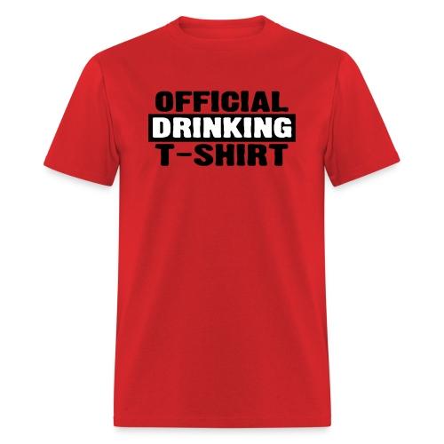 Official Drinking T-Shirt - Men's T-Shirt