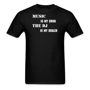 ReVolt: Music Dealer (Non-QR) - Men's T-Shirt