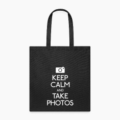 Keep Calm and take photos Bags & backpacks