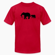 African Indian elephants zoological gardens ivory  T-Shirts