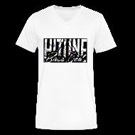 T-Shirts ~ Men's V-Neck T-Shirt by Canvas ~ BassGod Rep Shirt