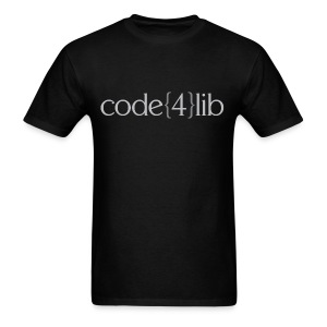 Men's Code4Lib Standard T-Shirt - Men's T-Shirt