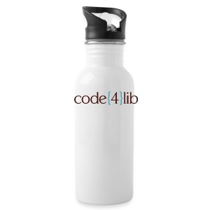 Code4Lib Water Bottle - Water Bottle