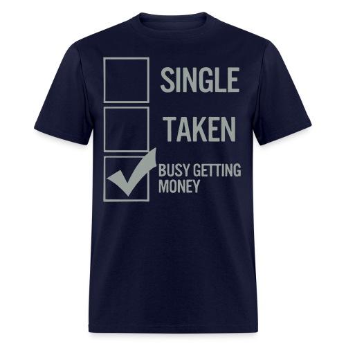 Men's Busy Getting Money Tee - Men's T-Shirt