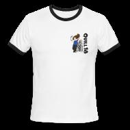 T-Shirts ~ Men's Ringer T-Shirt ~ Old School Quill18 (Mens Ringer)