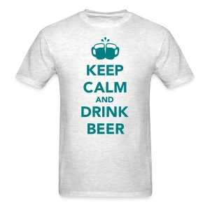 Keep Calm & Drink Beer - Men's T-Shirt