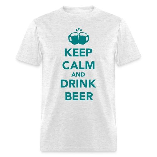Keep Calm & Drink Beer - Men's T-Shirt