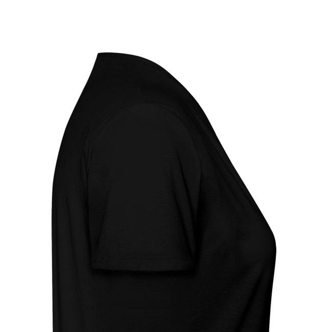 Hug - Gildan Ladies' V-neck Black