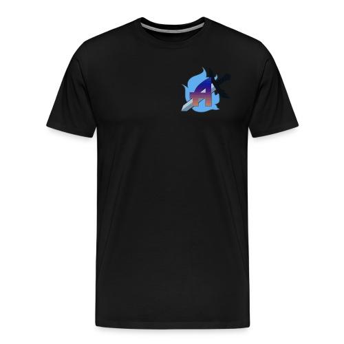 Burning Arcane AzmoTheAwesome Logo - Men's Premium T-Shirt