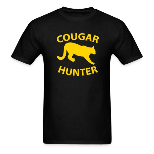 Cougar Hunter T-shirt - Men's T-Shirt