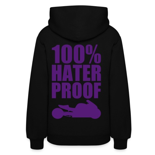 S&S HATER PROOF PURPLE - Women's Hoodie