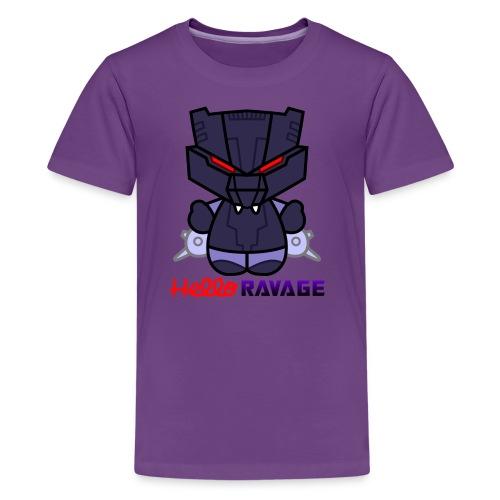 Hello Ravage - Kids' Premium T-Shirt