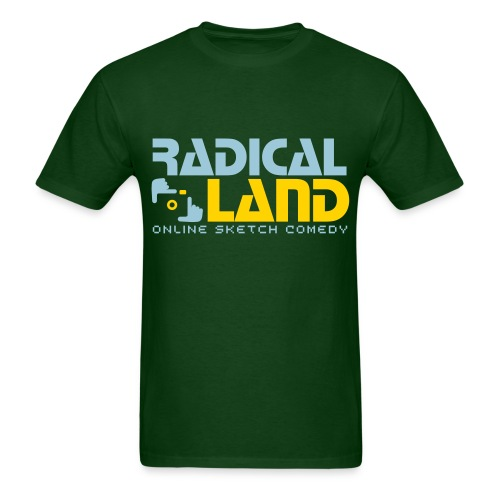 RADICAL LAND OFFICIAL T-SHIRT - Men's T-Shirt