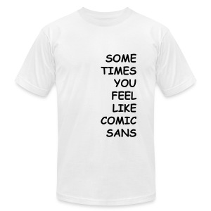 Comic Sans - Men's Fine Jersey T-Shirt